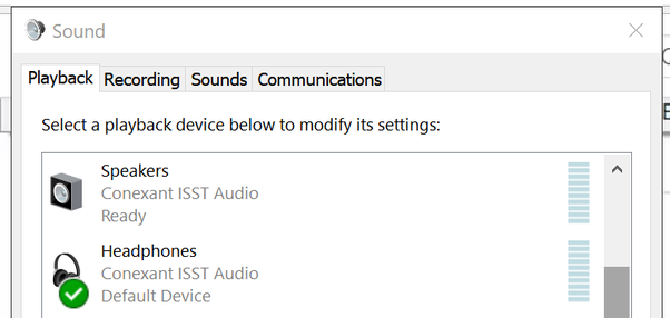 Tech Support: How do I separate headphone and speaker audio volume