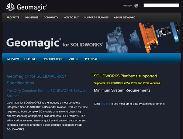 Will Geomagic for SolidWorks work for the 2011 version of