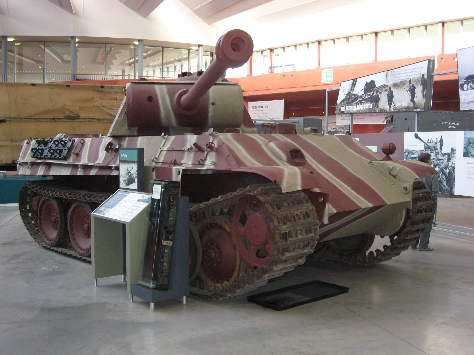 Did the Germans really use a red oxide primer as camouflage