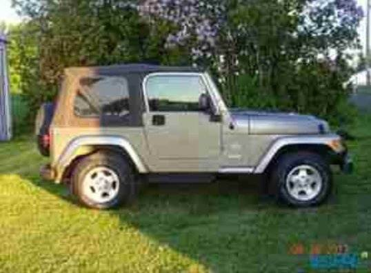 Exceptional Jeep TJ. See The Minimal Body Panel Between The Back Of The Door And The  Front Of The Rear Wheel Well? Compare That To The Pic Below Of Gerald Leeu0027s  Savvy ...