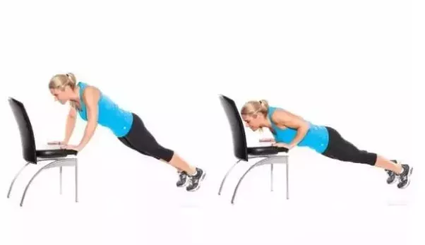 Image result for Chair Push-Ups