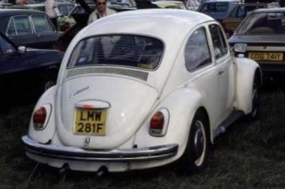 license plate   car photographed   abbey road album   quora