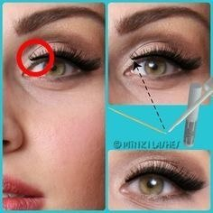 False Eyelashes Sometimes L Off In The Inner Corners So You Can Tell They Re Fake That Way