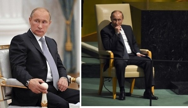 Why Does Vladimir Putin Often Have A Slouched Posture Quora