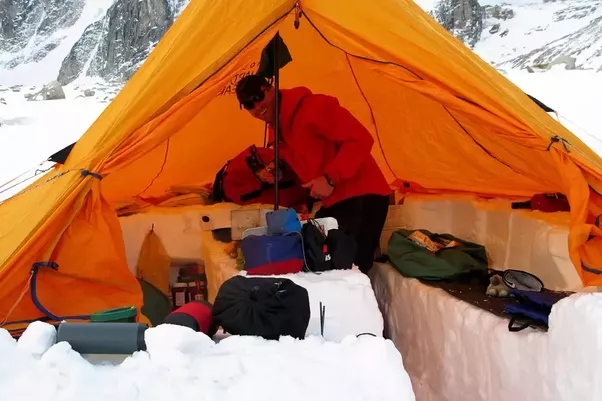 So I would recommend getting a couple of tents for you and friends and then using a tarp shelter for a living area/kitchen & What is the best tent for both +30c and -30c? - Quora