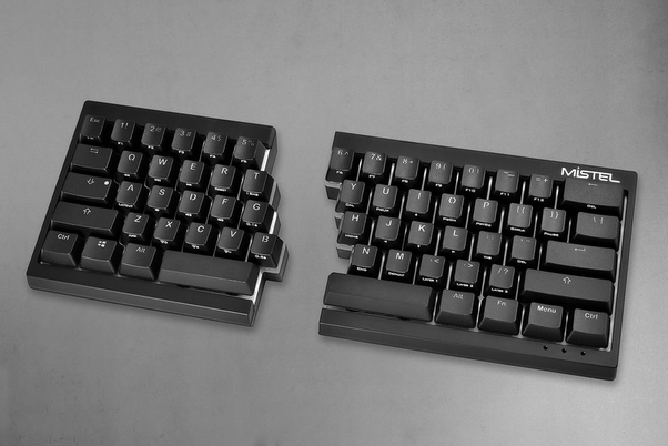 Although 6 may be located further to left than N, learning this split will  enable you to migrate to properly split keyboards and other ergnomically ...