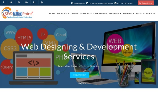 Which company is the best company for website development in bhopal