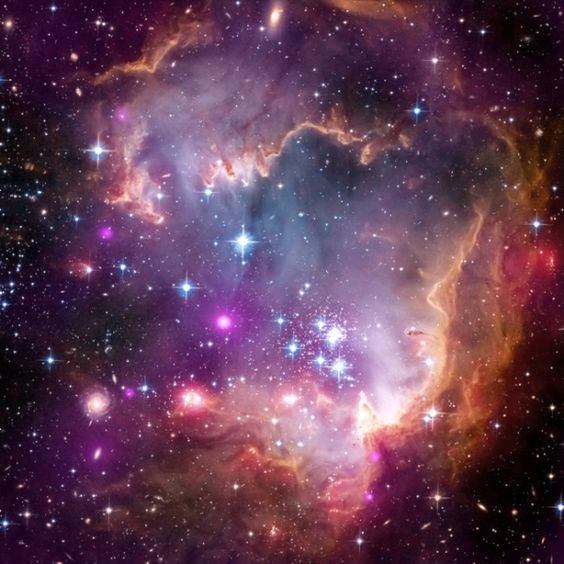 Why do stars suddenly appear