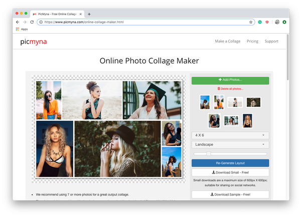 Which are the best collage making websites for free? - Quora