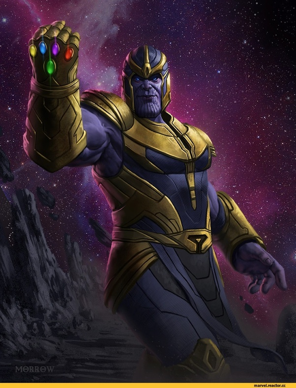What vest does Thanos wear in Avengers: Infinity War? - Quora