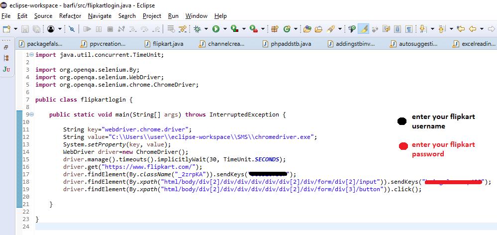 How to handle a Flipkart login window by Selenium WebDriver