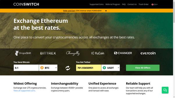 canadian bitcoin exchange comparison