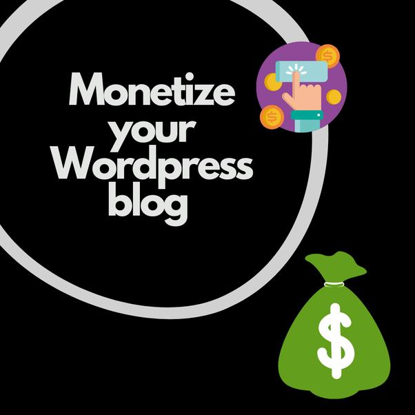 Options wordpress blog monetize Top 11