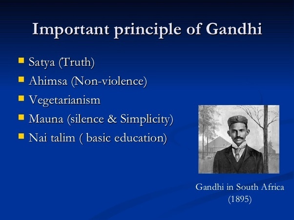 Mahatma Gandhi and the Bhagavad Gita
