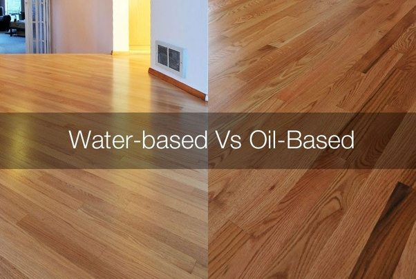 How To Use Oil Based Polyurethane Over Water Based