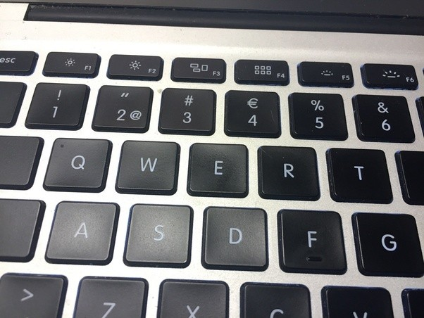 What Character Appears Above The Number Four On A Computer Keyboard