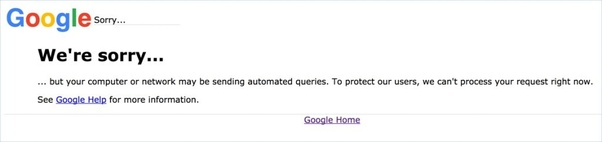 Why does Google always ask us to verify 'I am not a robot'? - Quora