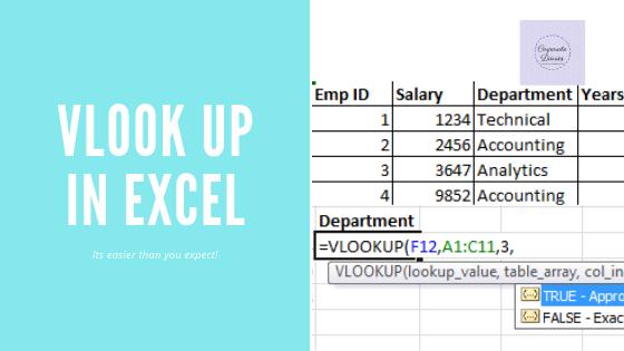 What is Vlookup in Excel? - Quora