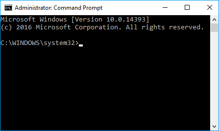 how to get command prompt on startup windows 10