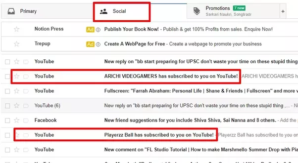 how to see who subscribed to you on youtube live
