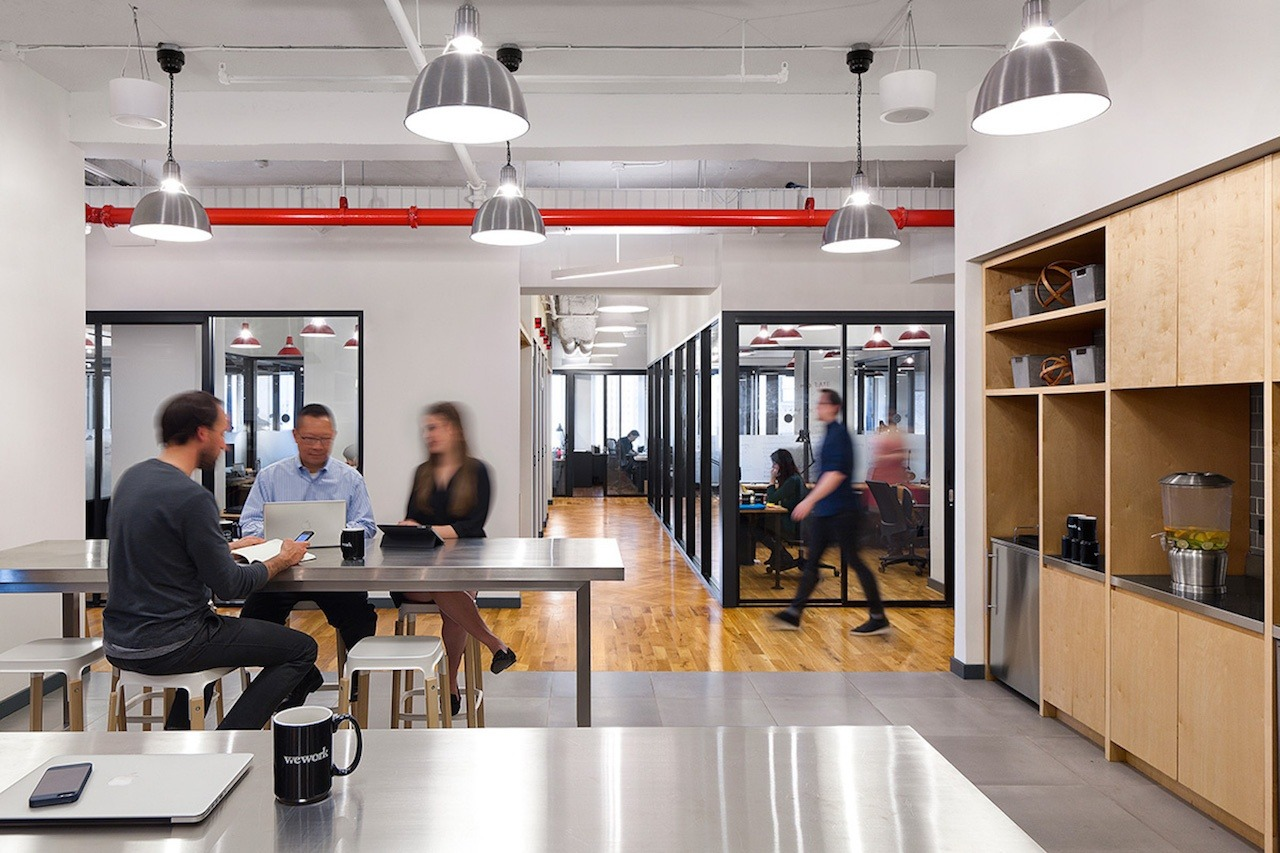 Do WeWork customers get any meaningful value beyond office