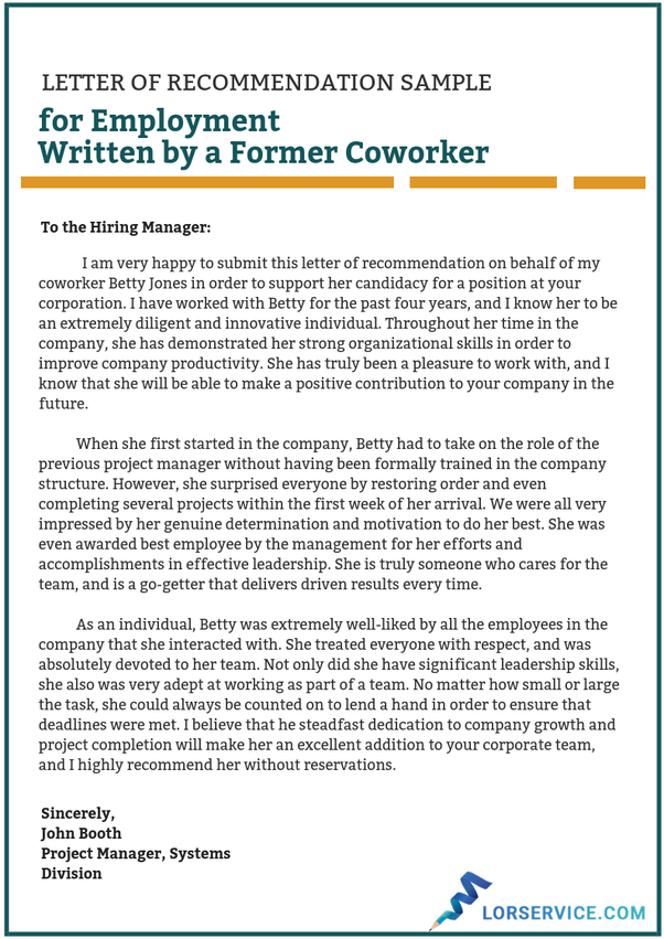 Letter Of Recommendation From A Supervisor from qph.fs.quoracdn.net