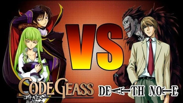 Which anime is better Death Note or Code Geass? - Quora