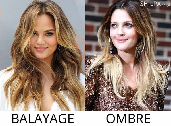 What\'s the difference between balayage and ombre? - Quora