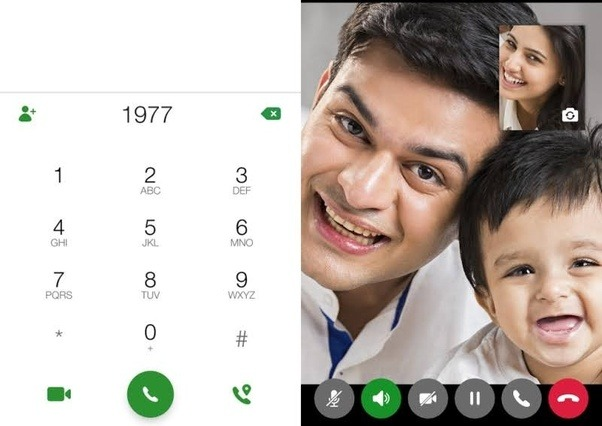 How to make a video call from a Jio SIM if the phone (Vivo