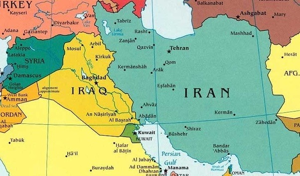 Why didnt israel bomb irans nuclear sites whereas they did bomb let us start with a map just to see iraq and iran in comparison gumiabroncs Images