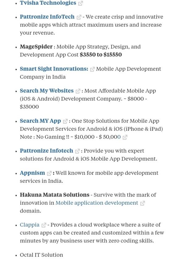 Which are top companies that develop Android apps in Coimbatore? - Quora