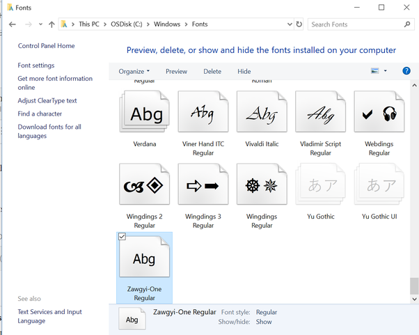 How to get my Burmese font to work in Word - Quora