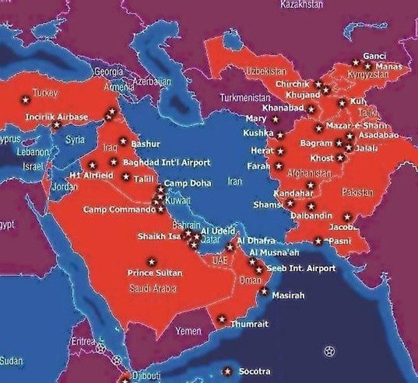 Why does the U.S. have so many military bases outside of the United ...
