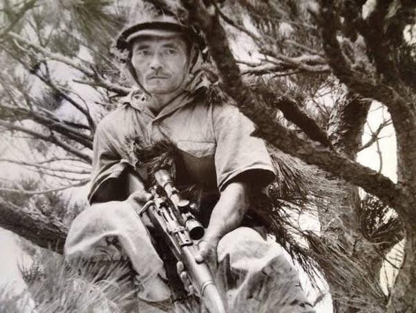 旧日本軍にも狙撃兵はいたのでしょうか? - Quora