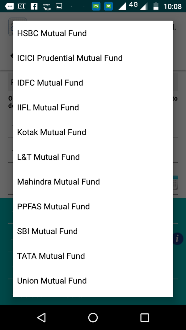 Which is the best Android app for monitoring the mutual fund SIP