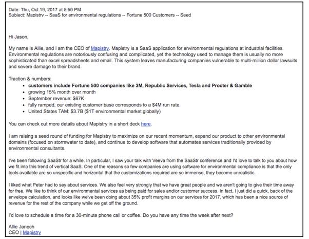 2 Cold Emails I Funded For Millions | SaaStr