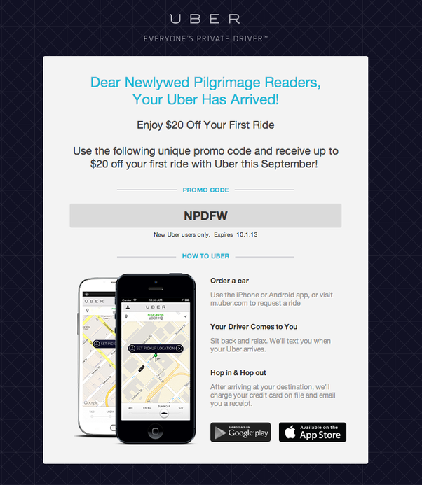 How To Get Uber Discount Codes