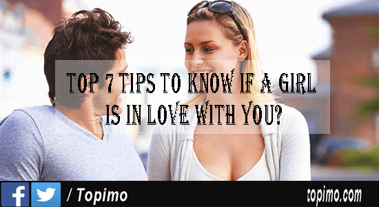 how to know if a girl is in love