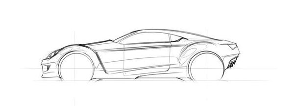 How would I learn to accurately sketch muscle cars? - Quora