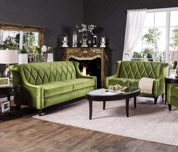 (I Do Like The Stunning Color Combination Of This Limerick Sofa Set)