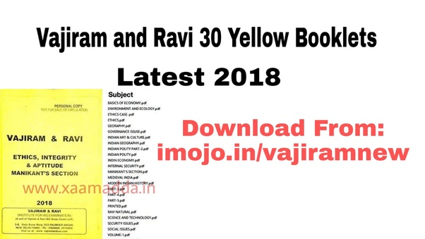 Where can I download notes of vision-IAS, Vajiram or other coaching