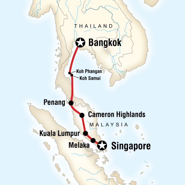 Why is bangkok hotter than singapore despite being much further from bangkok is inland not far inland but still surrounded by other land this land is a low lying plain that is relatively dry once you get out of the area gumiabroncs Choice Image