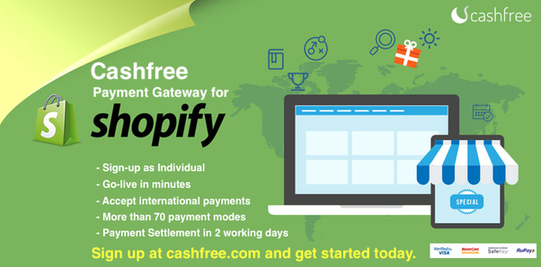 Which is the best payment gateway with low transaction rates for Shopify in India that accepts international credit card payments (mainly from the US)?