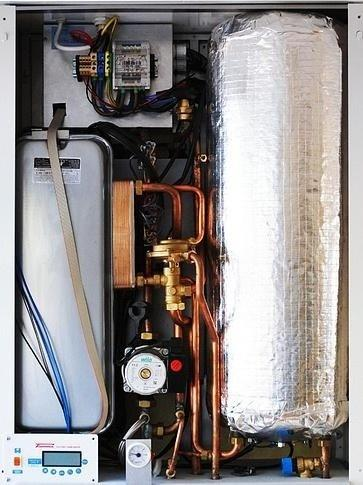 How long is the gas disconnected when a new central heating boiler ...