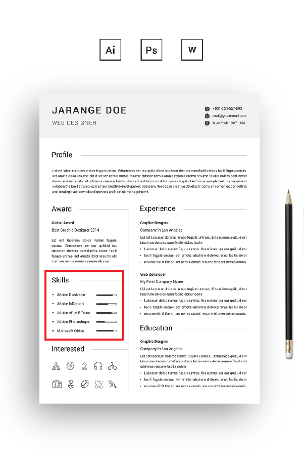 what are the most desired technical skills on a resume