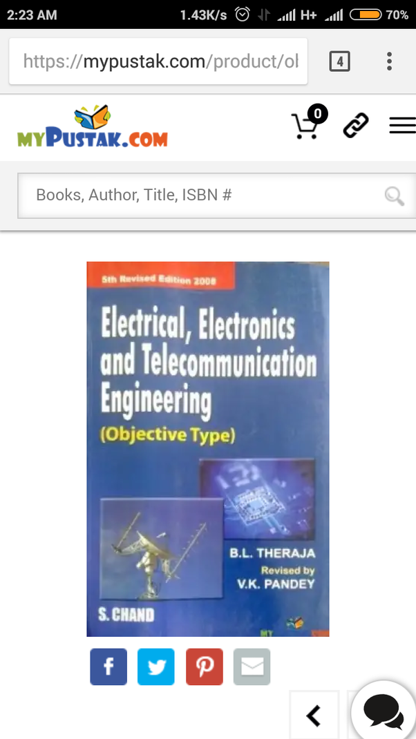 Where can I download the objective book for electrical