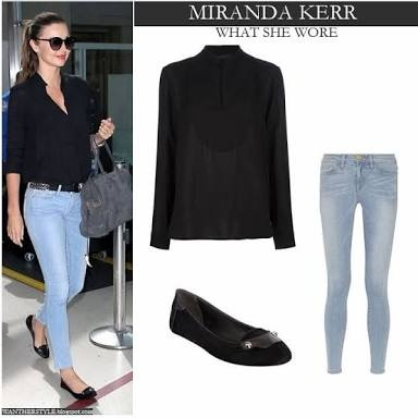 9c64a0cfdd0 What sort of flat women shoes will go with light blue jeans with a ...