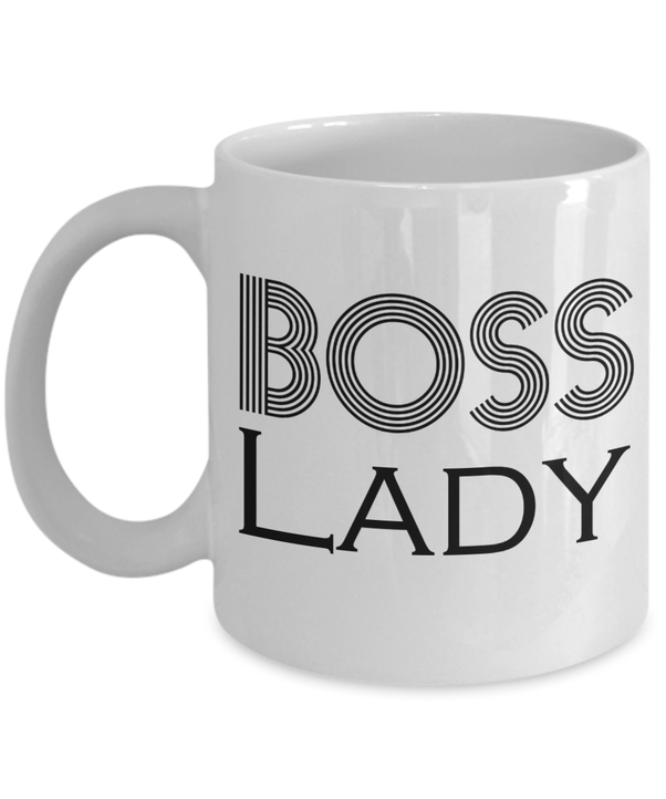 Boss Lady Mug Gifts Im The Gift For Birthday Funny Ideas Bosses