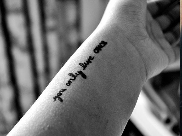 Inspirational Quotes Tattoo Ideas: What Are The Best Motivational Tattoos (small)?