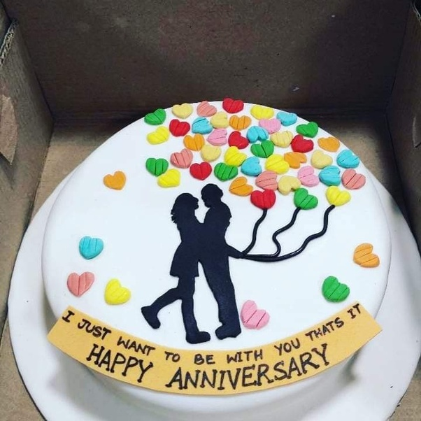 Surprise Him With The Love Theme Cake